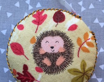 Hedgehog retractable tape measure sewing knitting patchwork Mother's Day quilting