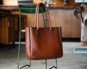 Leather Tote Bag, Large Brown Tote Carry All, Handbag, Weekend Bag, Australian, Shopper, Nappy Bag, Baby Bag, Bowler, Doctor, Handbag, Day