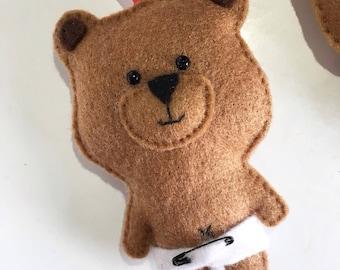 Baby Bear Hanging Plush
