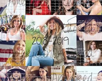 2018-2019 Sophia Bush Calendar