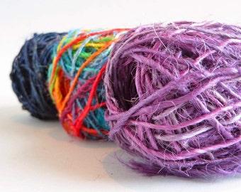 Hemp Twine / Unpolished Hemp / Organic Hemp / Two Ply / Hemp Cord / Macrame Cord / Hemp String / Boho Jewelry Ideas / Yarn for Weaving