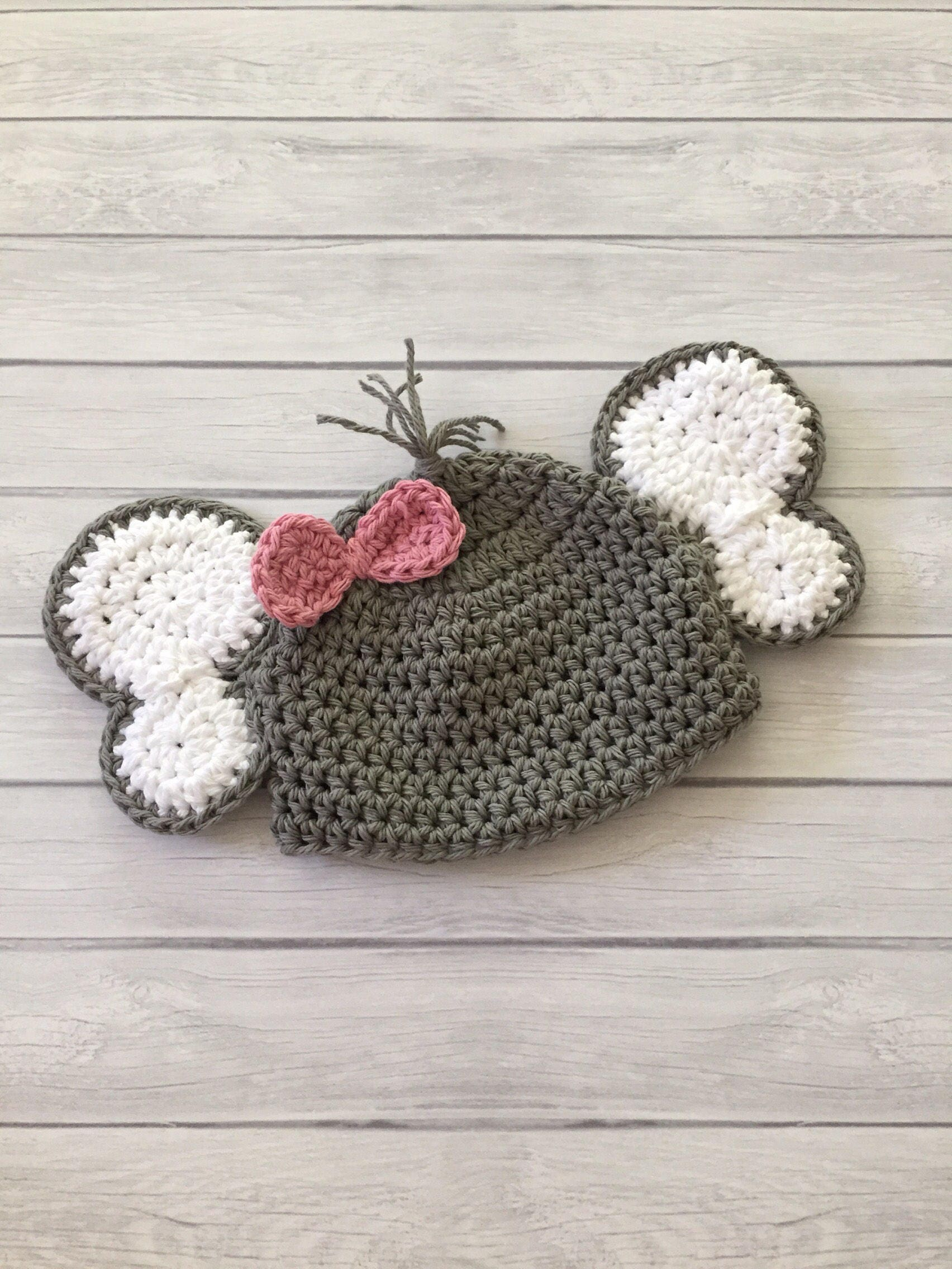 Elefant-Hut Baby-Elefant-Hut Elefant häkeln Elefant Hut