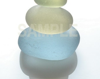 Now In Stock - Art Print of Seaham SeaGlass - The Stack - PP3 - From Seaham England