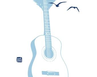 Le chant des baleines / Carococo Artprint par Carol-Anne Pedneault