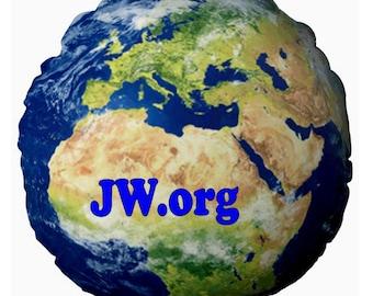 JW Earth ROUND Cushion