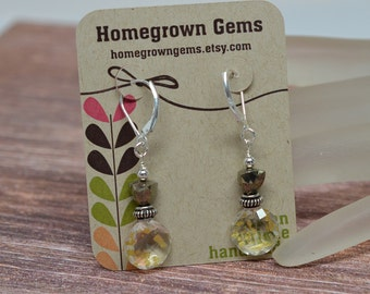 Custom Earring Cards Customized Personalized Retro Flowers 00001