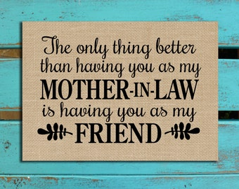 Mother-in-Law gift, Mom gift, Mothers Day gift, Mom quote, Mom-in-law gift, Nana gift, Mimi gift, Personalized gift