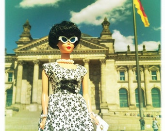 Barbie Clothes, Barbie Doll Dress, Barbie Dresses, Barbie Doll Clothes, Barbie Clothes Handmade, Barbie Vintage, Barbie Dress Floral