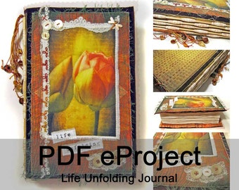 Life Unfolding Journal - PDF Sewing Pattern - Instant Download