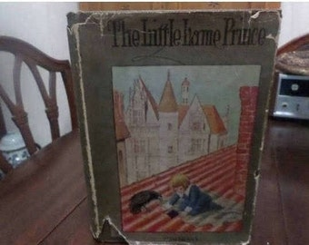 REDUCED Wonderful Vintage Book The Little Lame Prince Miss Mulock With Original Dust Jacket Excellent Condition
