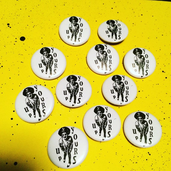 "Poly Styrene X-Ray Spex 1.25"" pinback button"