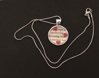 Romance Novel Necklace
