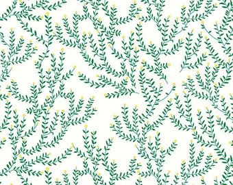 Catnip Toy | Floral Fabric | Andover Fabric| Lizzy House Fabric | Catnap Collection | Green