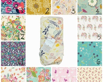Jersey Knit Crib Sheet Jersey Knit Changing Pad Cover Floral Baby Crib Sheet Contoured Changing Pad Cover Pink Floral Blue Floral Cream Pink