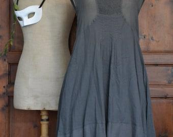 Cotton veil dress