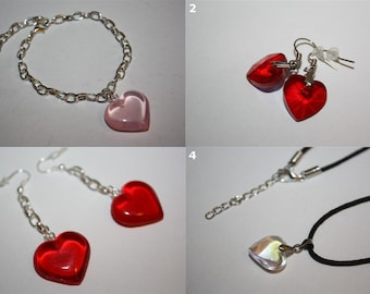 Heart Pendant - Valentine's Day Jewelry & Accessories - SELECT STYLE