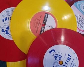 Vintage 78rpm children's record