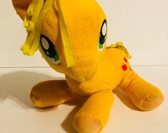 My little pony applejack plush toy stuffed pony