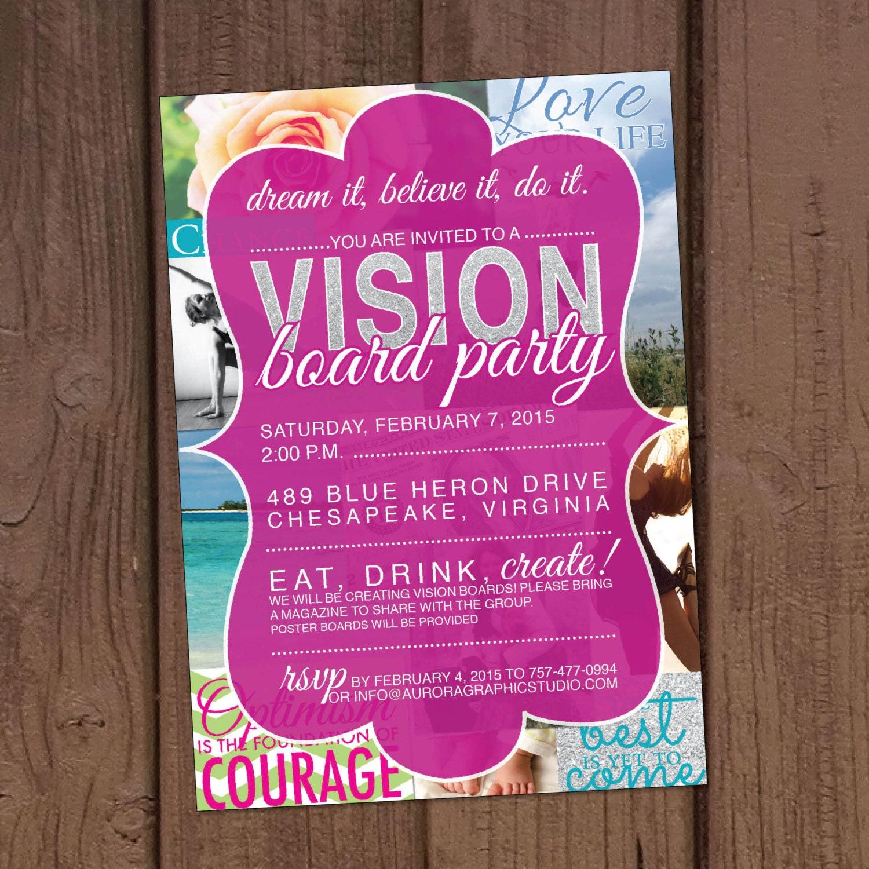 Board Party Invitation
