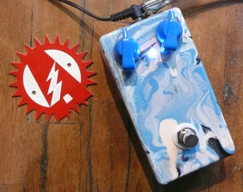 BYOC Reverb 2 Guitar Effects Pedal Alchemy Audio Painted and Assembled!
