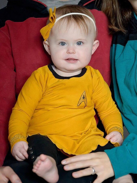 Like this item?  sc 1 st  Etsy & Captain Kirk baby cosplay Star Trek baby Star Trek Star
