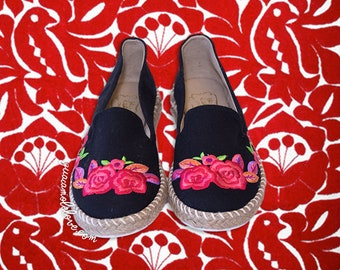 Mexican Embroidered Shoes