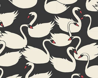 Swanlings Bevy Nightfall, Art Gallery Fabric Half Yard- Organic