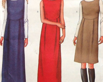 Jumper Sewing Pattern UNCUT Butterick 3245 Sizes 6-10