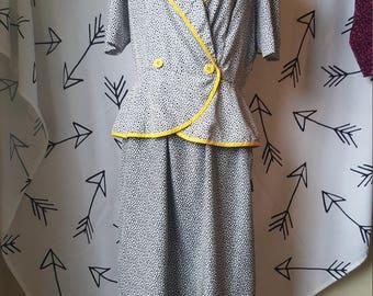 Patty O'Neill 1950s inspired 1980s dress