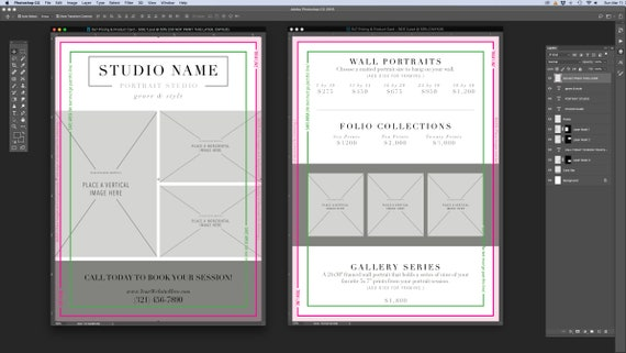 Fein Comp Kartenvorlage Photoshop Galerie - Dokumentationsvorlage ...