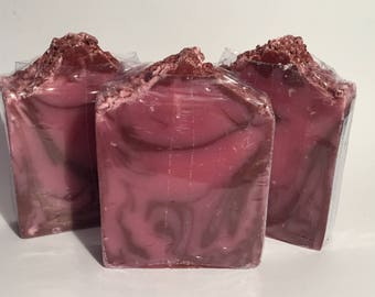 Berrywine Soap, Cold Process Soap, Homemade Soap, Handmade Soap, Vegan Soap