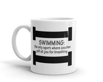 Swimming & Breathing Mug