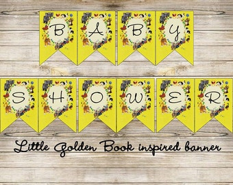 Little Book Inspired Non-Personalized Birthday Banner Digital File