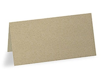 Kraft Paper Blank Rustic Place Cards Party Supplies