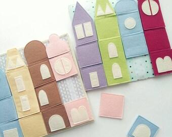 Quiet Book - Busy Book - Unicorn Baby Shower Gift - Quiet Book Pages - Quiet Book Toddler - Christmas Baby Gift - Felt Quiet book
