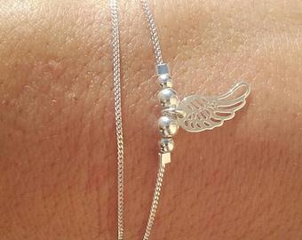"""""""MILA"""" angel wing bracelet"""