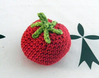 tomato to play the Dinette crochet