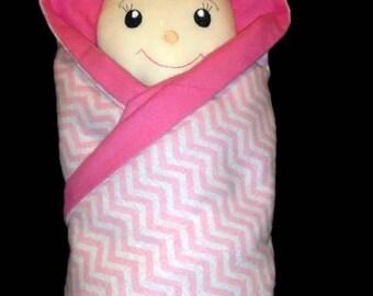 In Hoop Blanket Doll
