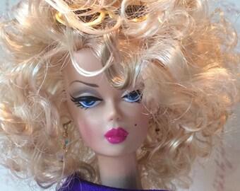 Barbie Wears Deep Violet