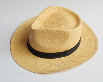 Summer Hat, Straw Hat, Men Hat, Summer Fashion Hat, Sun Hat, Panama Hat, Hand-woven Hat, Natural Straw Hat, Honduras Hat, Chapeau