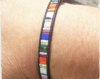 Bracelet beads way Bayadère