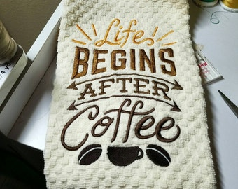 Life Begins After Coffee - Made to Order