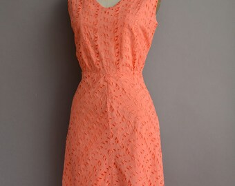 1950's Coral Dress