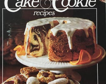 Cakes and Cookie Recipes by Better Homes and Gardens