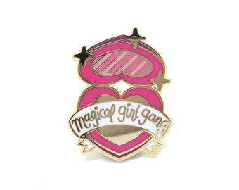 Magical Girl Gang Enamel Lapel Pin