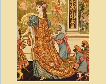 Beauty and the Beast, illustrated by Walter Crane