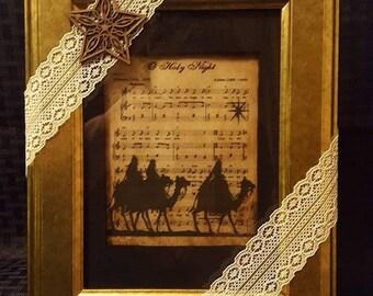 Framed Christmas Carols