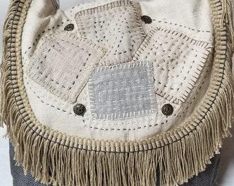 Bohemian crossbody or shoulderstrap bag