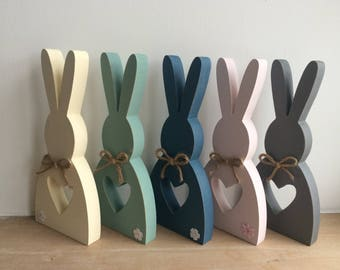 Rustic Collection Wooden Easter Bunny