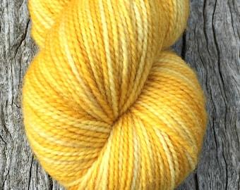 Little Yellow Cat hand dyed Australian 4ply sock yarn